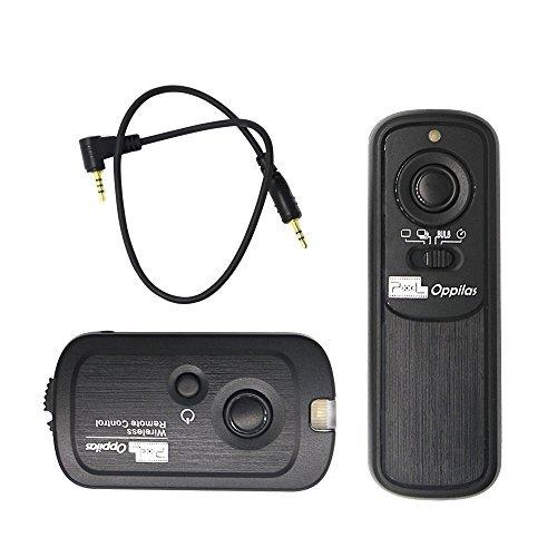 PIXEL RW-221/E3 Wireless Shutter Remote Control Release for Canon EOS 1300D/1100D/1000D/750D/700D/650D/600D/300D/60D/Powershot G10/G11/G12/G1X/SX50/700D by PIXEL