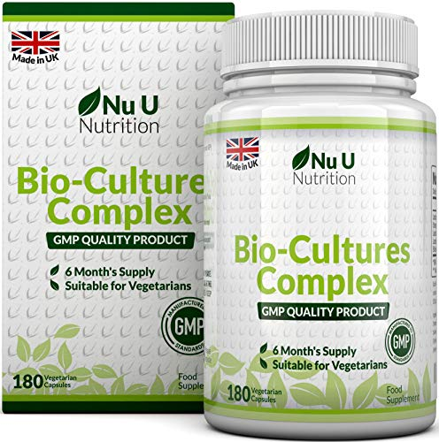Bio-Cultures 180 Capsules (6 Month Supply) | Vegetarian Multi Strain | High Strength...