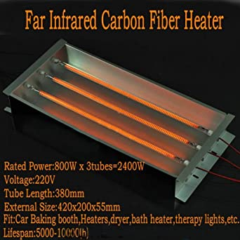 Booth Infrared Paint Curing Lamps