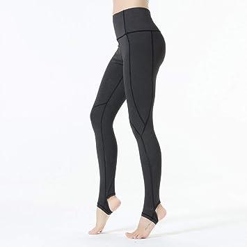 KDYZJK Rock Yoga Step On Foot Fit Sport Pants Elastic Fitness Gym ...