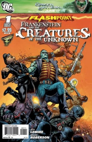 Flashpoint Frankenstein Creatures Ot Unknown #1