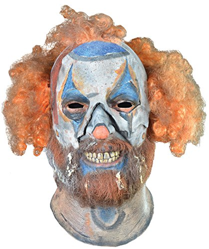 ROB ZOMBIE SCHITZO HEAD MASK (Couples Caveman Costumes)