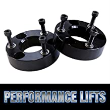 Prime Choice Auto Parts LK2427L2AB Front Leveling Lift Kit Spacer 2 Inch Aluminum Black