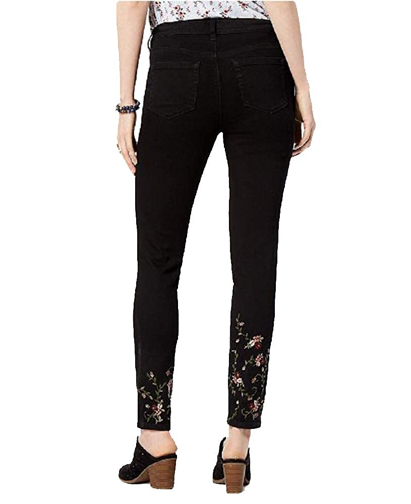 Style/&Co Embroidered Skinny Jeans