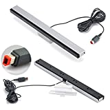 HDE Nintendo Wii AC Power Adapter Block, Component A/V HDTV Cable, and Wired Motion Sensor Bar for Nintendo Wii
