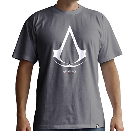 Abystyle Homme Assassin's Mc Gray Tshirt Creed Logo CwxSaUZqC