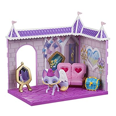 Animal Jam Princess Castle Den With Limited Edition Fancy Fox Playset: Toys & Games