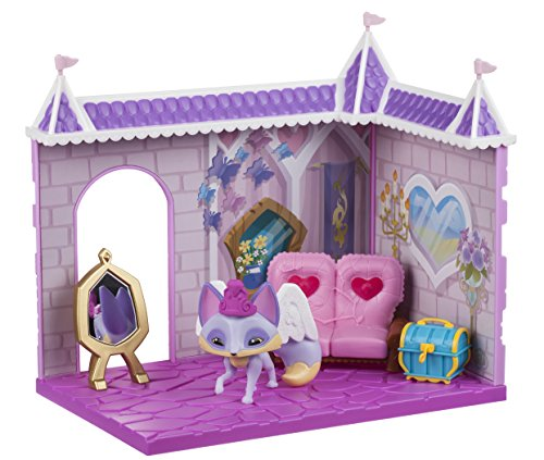 Animal Jam Princess Castle Den With Limited Edition Fancy Fox Playset (Animal Jam Wolf Plush)