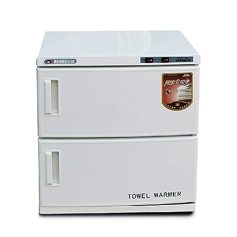Ciaer 32L Esterilizador de Toallas para UV 2 En 1 Calentador y Maquina Desinfeccion de Toallas Esterilización Herramientas de Manicura Tools para Salón de ...