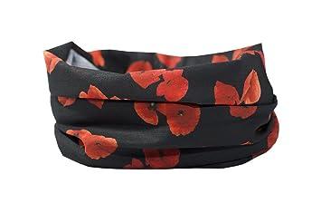 Bufanda multifuncional para calentador de cuello Bandana Deportes al aire libre para hombre y mujer y niños nO2l9FJj