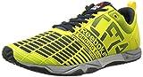 Reebok Women's Crossfit Sprint TR Training Shoe, Stinger Yellow/Reebok Navy/Metallic Silver, 8.5 M US