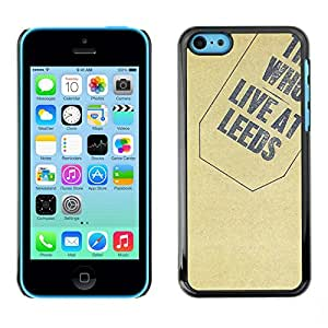 Soft Silicone Rubber Case Hard Cover Protective Accessory Compatible with Apple iPhone 5C - Texture Who