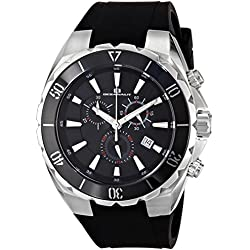 Oceanaut Men's OC5120 Seville Analog Display Quartz Black Watch