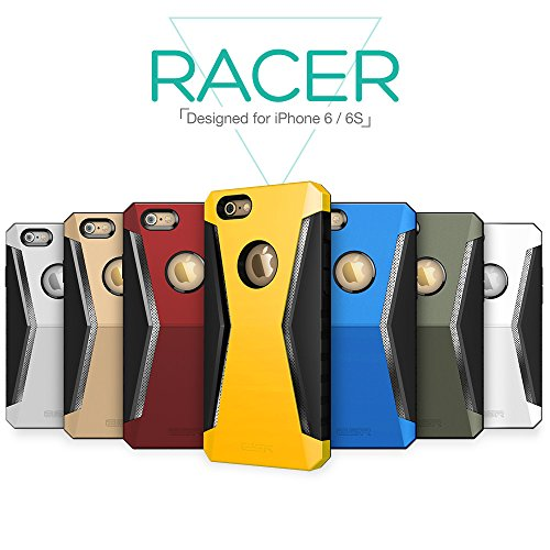 low priced e8912 eb871 ESR iPhone 6s Case, Extreme Protection Tough Armor Case Rugged Heavy Duty  Ultimate Protection from Drops and Impacts for iPhone 6S (2015) (Racer_Gold)
