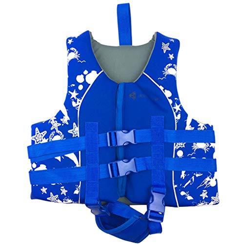 (Boy Girl Swim Vest Kids Buoyancy Jacket Float Suit Swimming Aids Swimwear)