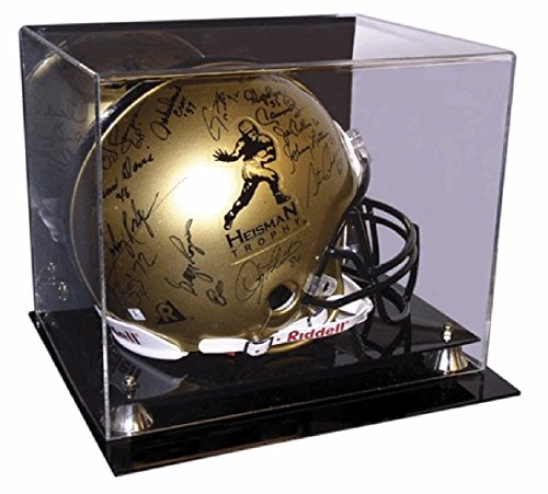 Deluxe Helmet Display Case (Cardboard Gold Brand Deluxe Acrylic Full Size Football Helmet Display Case by Cardboard Gold)