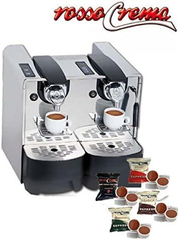Máquina Café Capitani Double Cup EP + 300 Cápsulas rossocrema ...