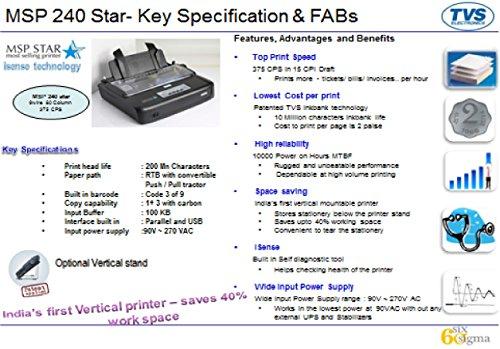 Tvs msp 240 star printer driver download.