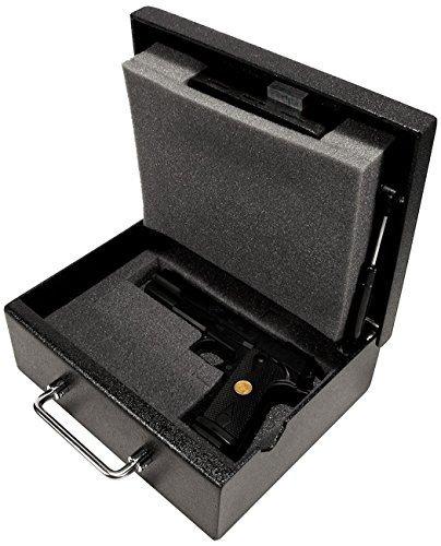Stealth Original Handgun Safe Steel Pistol Box Concealed Weapon Storage by STEALTH
