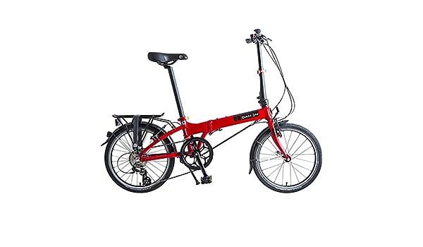 Dahon Mariner D8, Bicicleta Plegable Unisex Adulto, Rojo, 20 Pulgadas: Amazon.es: Deportes y aire libre