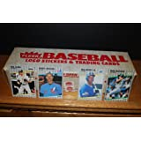 1989 Fleer Baseball Factory Sealed Complete Set (Ken Griffey Jr. Rookie) (Randy Johnson Rookie) (John Smolts Rookie) (Gary Sheffield Rookie) (Craig Biggio Rookie)