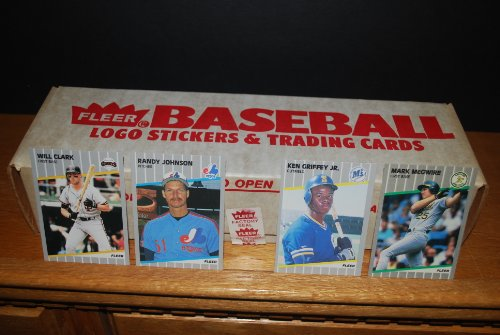 1989 Fleer Baseball Factory Sealed Complete Set (Ken Grif...
