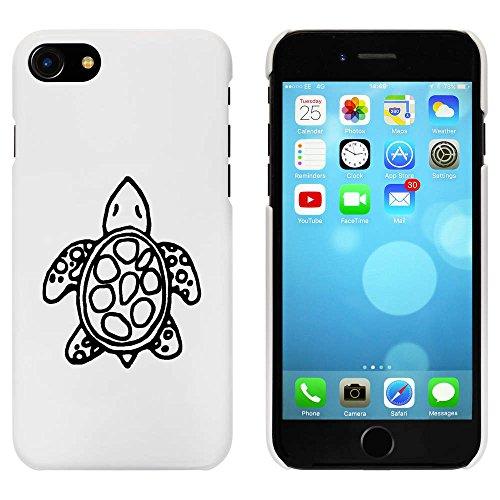 Blanc 'Tortue' étui / housse pour iPhone 7 (MC00063630)