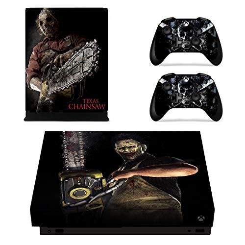 Decal Moments Xbox One X Console Controllers Skin Set Vinyl Skin Sticker Decals Cover for Xbox One X(XB1 X) Console Leather Face]()