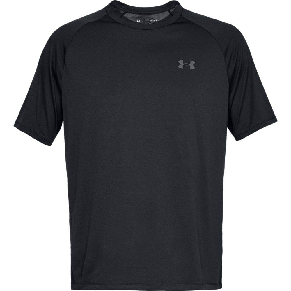 Under Armour Men's Tech 2.0 Short Sleeve T-Shirt, Black (001)/Graphite, 3X-Large by Under Armour (Image #6)