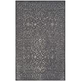 Safavieh Glamour Collection GLM516B Steel and Blue Area Rug, 2′ x 3′ Review