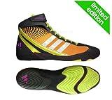 Adidas Response 3.1 Wrestling Shoes - Bahia Orange/Black/Bahia Glow - 10