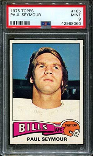 Paul Seymour Bills - 1975 TOPPS #185 PAUL SEYMOUR BILLS PSA 9 F2680209-060