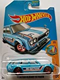 datsun wagon hot wheel - Hot Wheels 2017 Surf's Up '71 Datsun Bluebird 510 Wagon 277/365, Blue