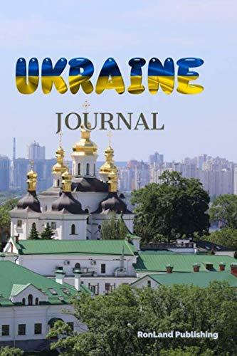 Journal: Ukraine 100 page lined ruled notebook...