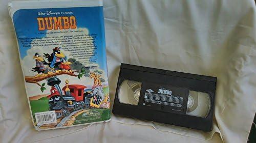 Walt Disney's Classic: Dumbo (Black Diamond Classics Collection) [VHS]