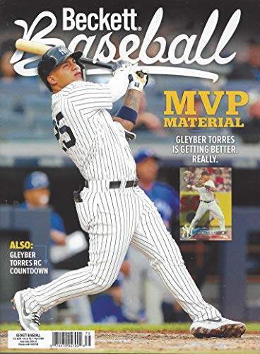 NEWEST GUIDE: Beckett Baseball Card Monthly Price Guide (February 11, 2020 release/G. Torres cover) ***Pricing starts at 1980***