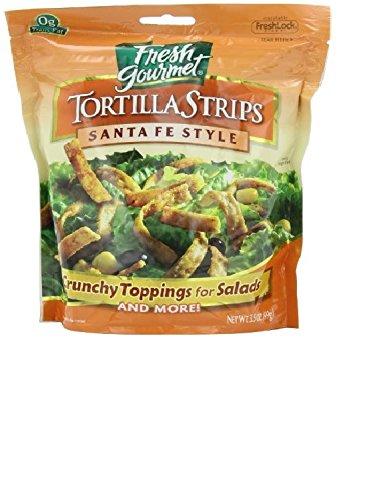 Fresh Gourmet Tortilla Strip, Santa Fe, 3.5 oz - Fresh Gourmet Tortilla Strips