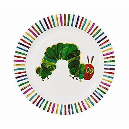 The Very Hungry Caterpillar Paper Plates  sc 1 st  Amazon.com : hungry caterpillar paper plates - pezcame.com
