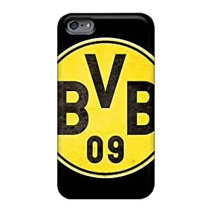 Apple Iphone 6s ZGq445aIVY Custom Colorful Borussia Dortmund Pattern Anti-Scratch Cell-phone Hard Cover -case8888