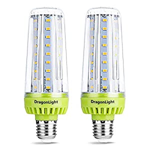 20W Super Bright Corn LED Light Bulbs(200 Watt Equivalent) – E27 Base 6000K Daylight 2320 Lumens for Large Area Lighting…