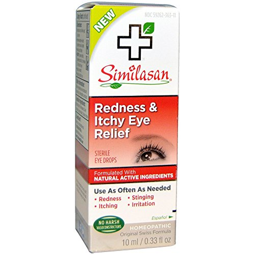 Pink Eye Relief Drops (Similasan Irritated Eye Relief Drop 0.33 oz)