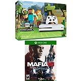 Xbox One S 500GB Console - Minecraft Bundle + Mafia 3 Game