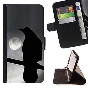 Momo Phone Case / Flip Funda de Cuero Case Cover - Luna de la noche Siniestro Oscuridad Profunda - LG G4 Stylus H540