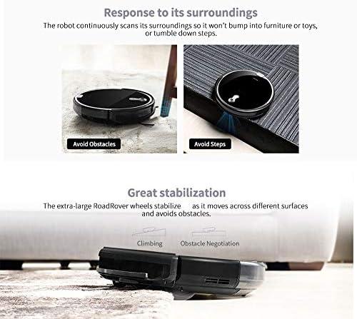 SCKL Robot Aspirateur pour Mince Tapis Caméra Navigation Divers Modes De Nettoyage Accueil Robot Balayer