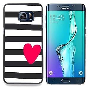 "Planetar ( Cuervo Negro naturaleza de la acuarela"" ) Samsung Galaxy S6 Edge Plus / S6 Edge+ G928 Fundas Cover Cubre Hard Case Cover"