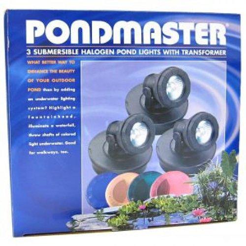 Pondmaster 02393 Submersible Halogen Pond Light Set