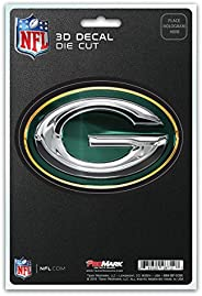 NFL Green Bay Packers 3-D Decal, Dark Green, One Size