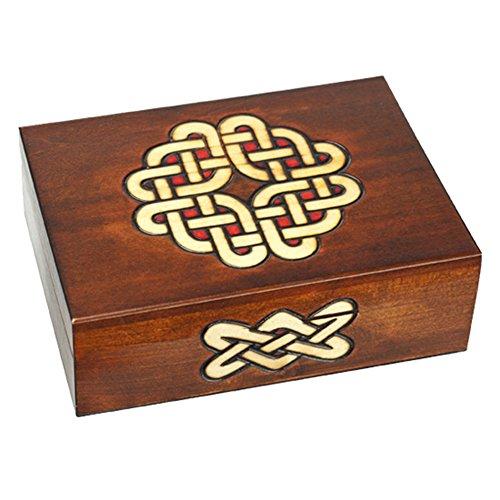 Irish Polish (Polish Handmade Wood Box Celtic Path of the Novice Elf)