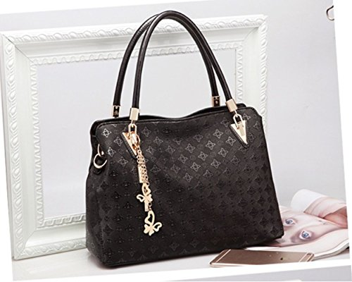 Unknown, Borsa a mano donna M Black 3