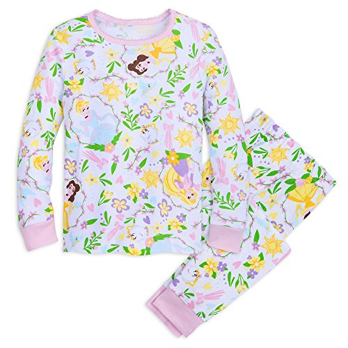 Disney Princess PJ PALS Set for Girls Size 6 Multi Disney Store Princess Pj
